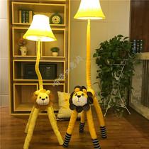 新中式落地灯客厅茶楼灯田园客厅卧室走廊创意竹编落地台灯