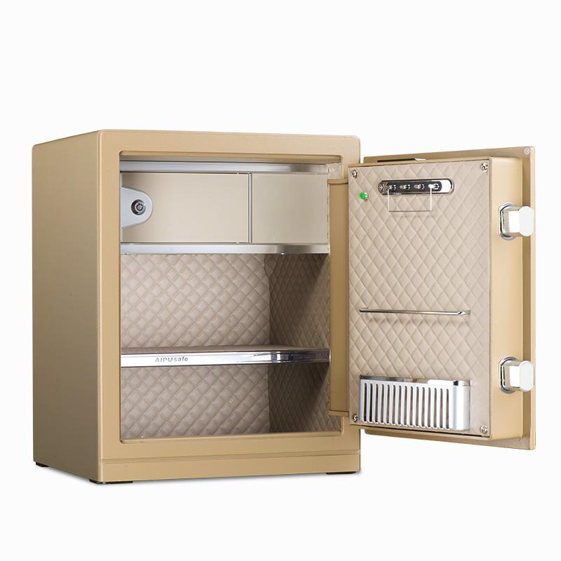 AIPU艾谱保险箱家用办公国家3c认证智能WIFI灵睿系列25LR-45LR电子密码小型入墙全钢床头柜