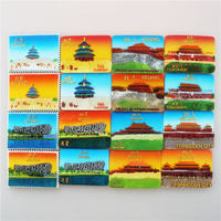 Beijing Great Wall refrigerator magnets Chinese style features the Forbidden City tourist souvenirs