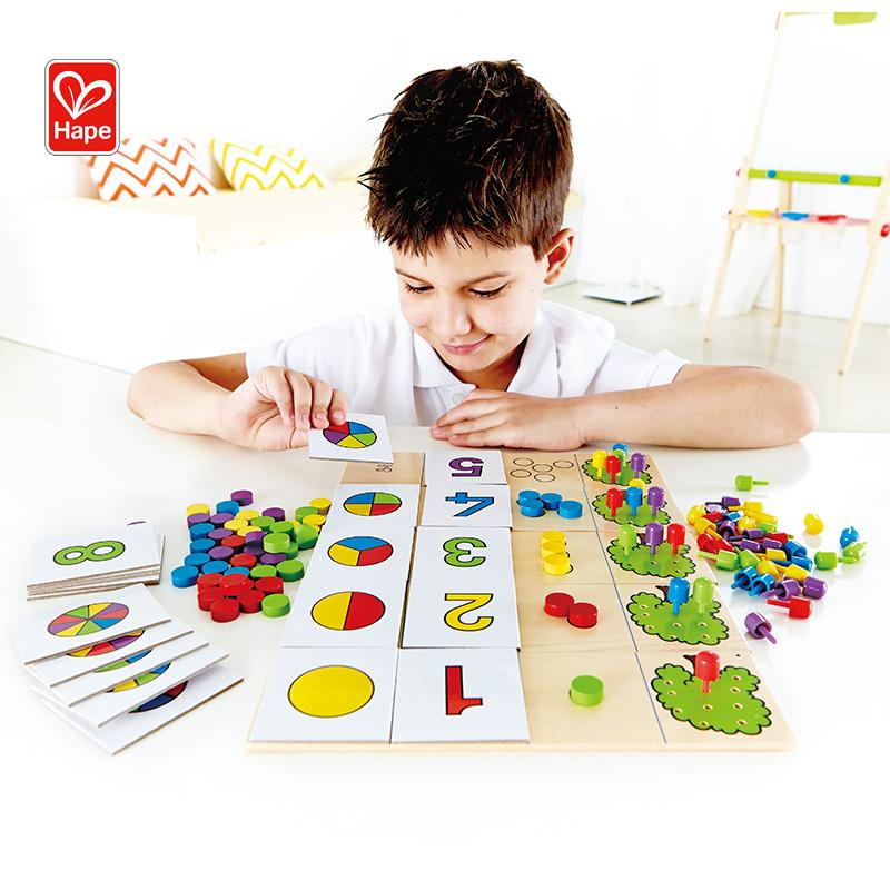 Hape丰收的果园 儿童益智玩具3-6岁宝宝早教智力数理逻辑认知数字