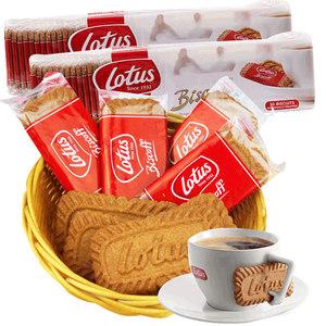 比利时lotus和情缤咖时焦糖饼干进口零食小饼干小包装年货零食