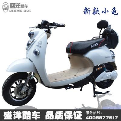 新款小龟王电动车电摩托车60V72V电瓶车助力车踏板车成人双人酷车旗舰店