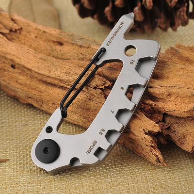 多功能钥匙扣开瓶器随身便携迷你袖珍组合工具户外露营登山扣圈