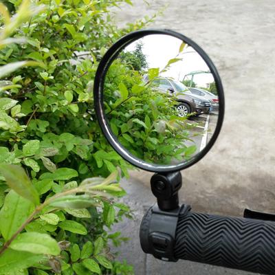 自行车后视镜凸面镜单车反光镜骑行装备山地车镜电动车后视镜包邮
