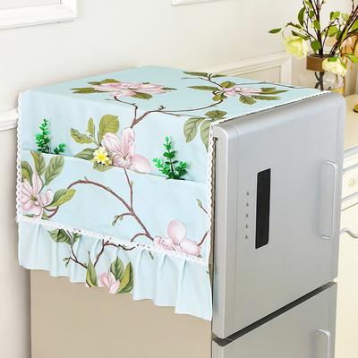 布艺家用冰箱盖布冰箱巾防尘罩盖巾单开门双开门冰箱收纳盖巾包邮好不好