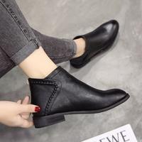 踝靴女冬韩版
