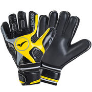 Qionghua football goalkeeper gloves with fingertips latex breathable non-slip gantry gloves adult children goalkeeper gloves