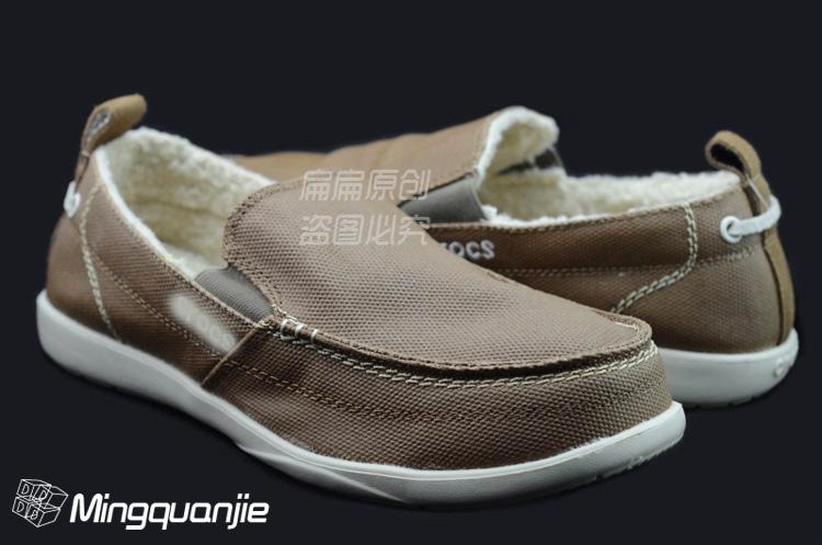 cross风尚沃尔卢保暖户外休闲帆布鞋轻便男鞋一脚蹬包邮