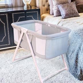 babyboat婴儿床多功能新生儿摇篮床宝宝睡觉神器可折叠bb床宝宝床