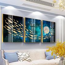 墙画四条屏餐厅水墨挂画壁画客厅国画梅兰竹菊四联中式古典装饰画
