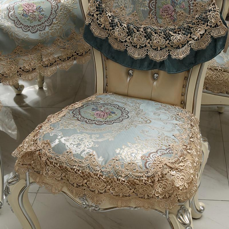 餐椅垫椅背套装
