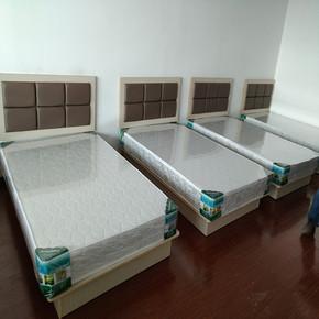 酒店套房家具简约现代软包床头标间全套靠板床架厂家直销宾馆床