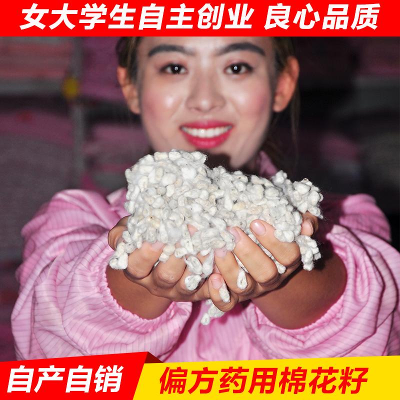 新疆高产长绒棉棉花籽食用棉花种子棉子药用引子带毛带壳棉籽天然