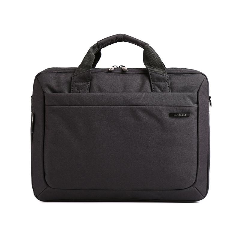 金圣斯 男士单肩包手提包公文包电脑包斜挎包休闲笔记本电脑包