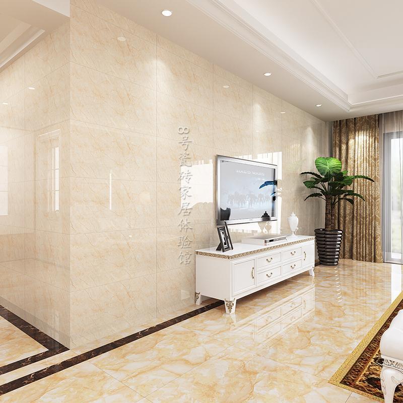 镜面客厅瓷砖