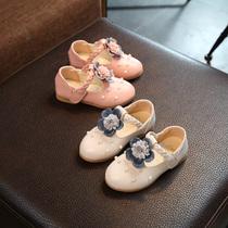 女宝单鞋公主鞋1-2-3-4-5岁春秋季圆头软底女宝宝小皮鞋女童鞋子6