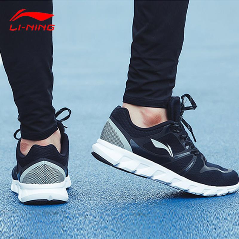 李宁跑步鞋男鞋夏季透气运动鞋轻便舒适鞋子男ARHM013运动鞋男