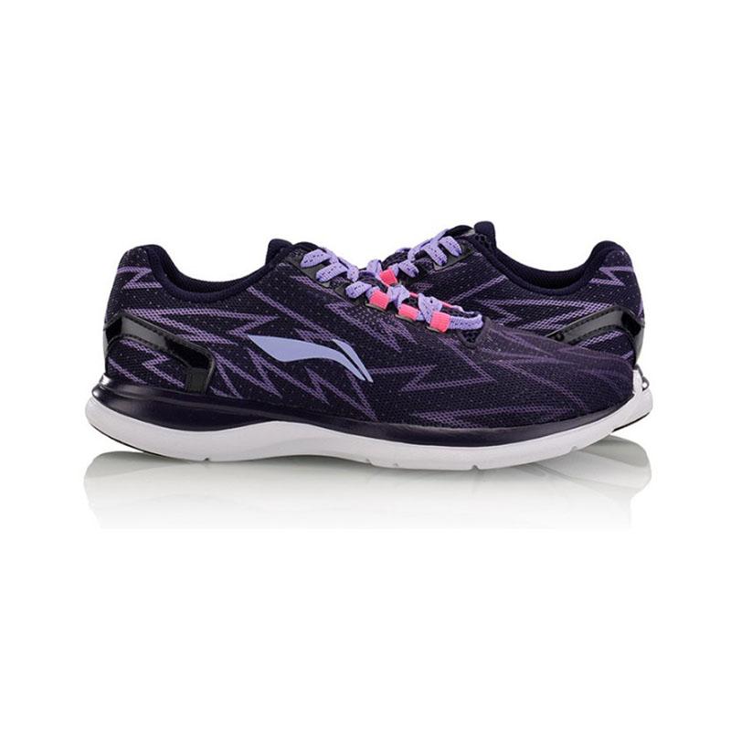 李宁跑步慢跑运动鞋女鞋复古鞋休闲学生旅游鞋ARBM012-11跑鞋