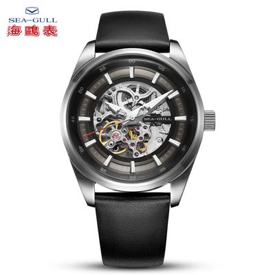 seagull海鸥男表新品自动机械表镂空时尚简约男士休闲手表 机械师