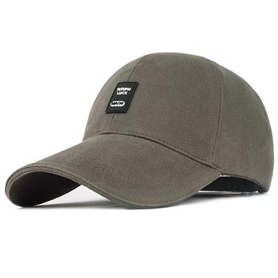 棒球帽男士帽子秋冬户外运动帽冬天长檐太阳帽韩版时尚鸭舌帽夏季