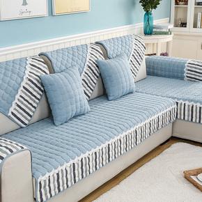 百年扶手客厅自制手工四季沙发垫通用单件布艺婚房材料包防滑成套