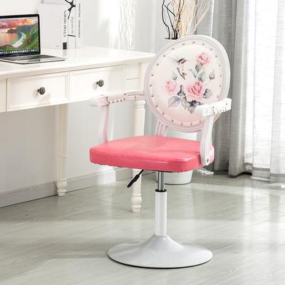 欧式吧台椅酒吧椅子旋转升降靠背家用梳妆凳圆凳子时尚创意美甲凳