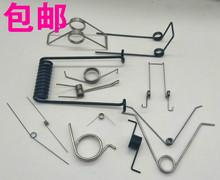 扭簧包邮不锈钢V型七字扭转夹子弹簧现货扭力异型定做扭簧线径