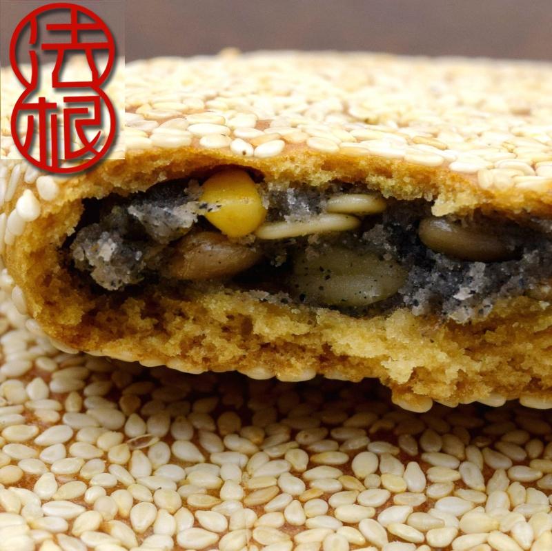 果仁芝麻饼
