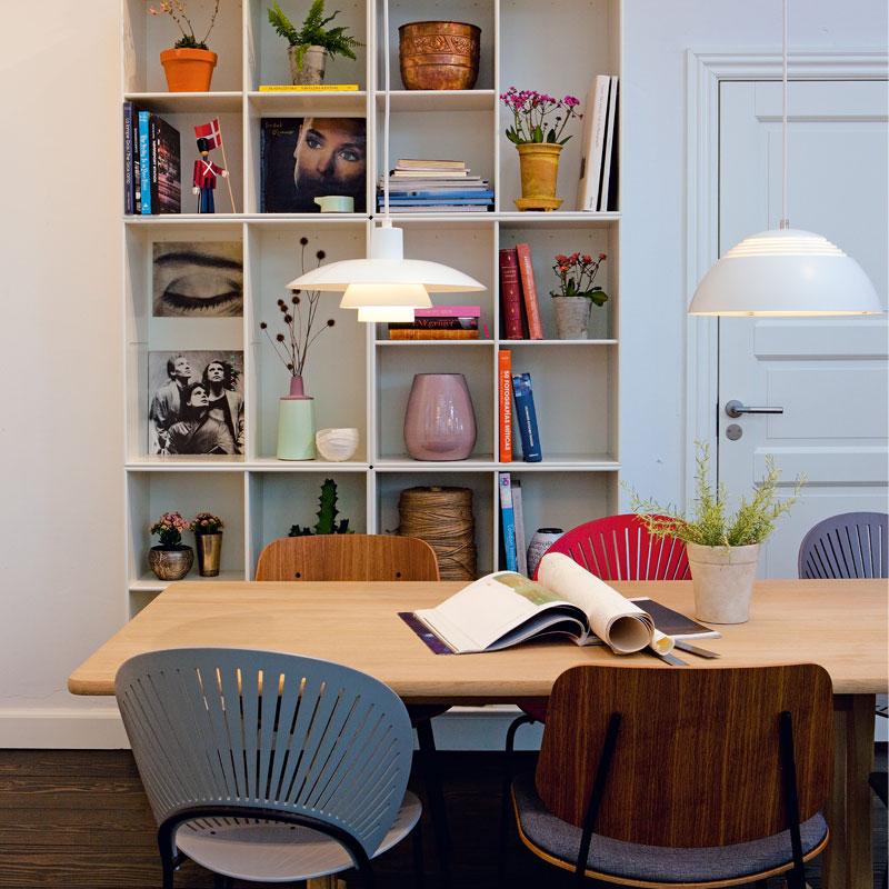北欧风格创意个性现代简约时尚餐厅吧台PH3/4楼梯过道单头吊灯