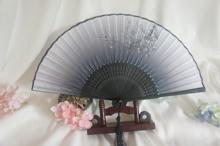 包邮 古风仿真丝折扇精品礼物优质扇子 多色可选复古怀旧
