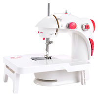 Fanghua sewing machine 201 type household electric mini multi-function small manual eating thick micro sewing machine