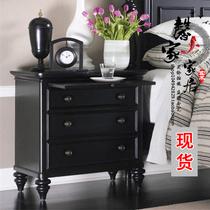 元以内简易组装多功能床边小柜子50床头柜简约现代卧室床头柜特价
