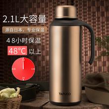 日本泰福高新款双层真空不锈钢保温壶 保暖瓶 家用保温水瓶水壶