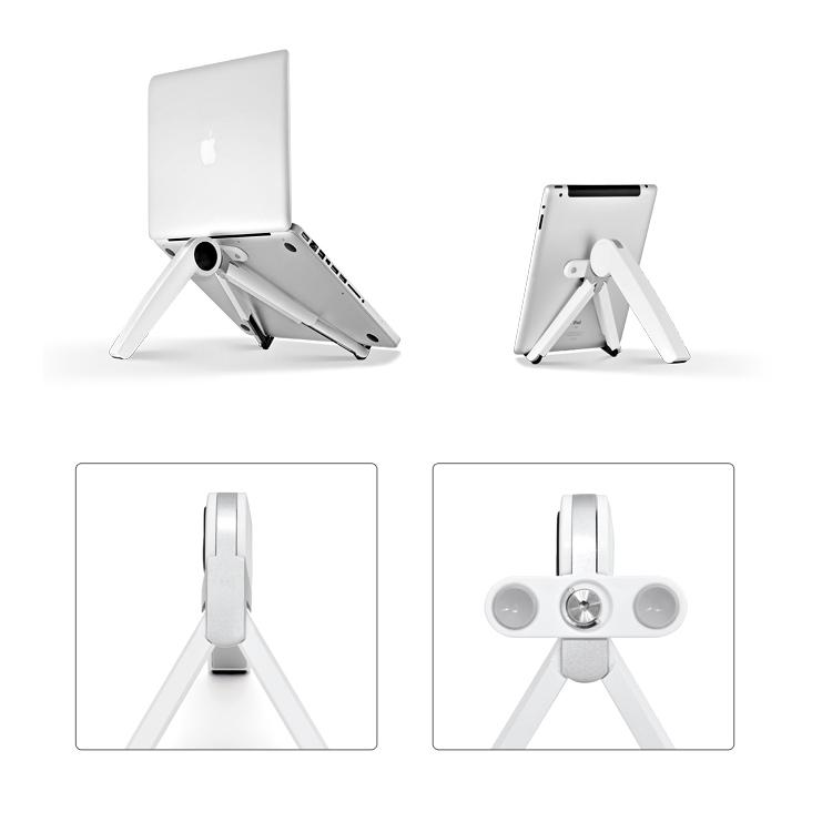 埃普UP-1s笔记本支架便携式电脑支架升降折叠懒人桌面架子比目鱼