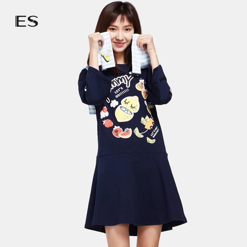 艾格ES连衣裙