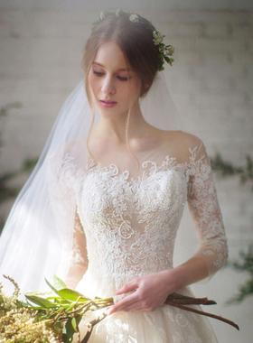 齐地婚纱礼服