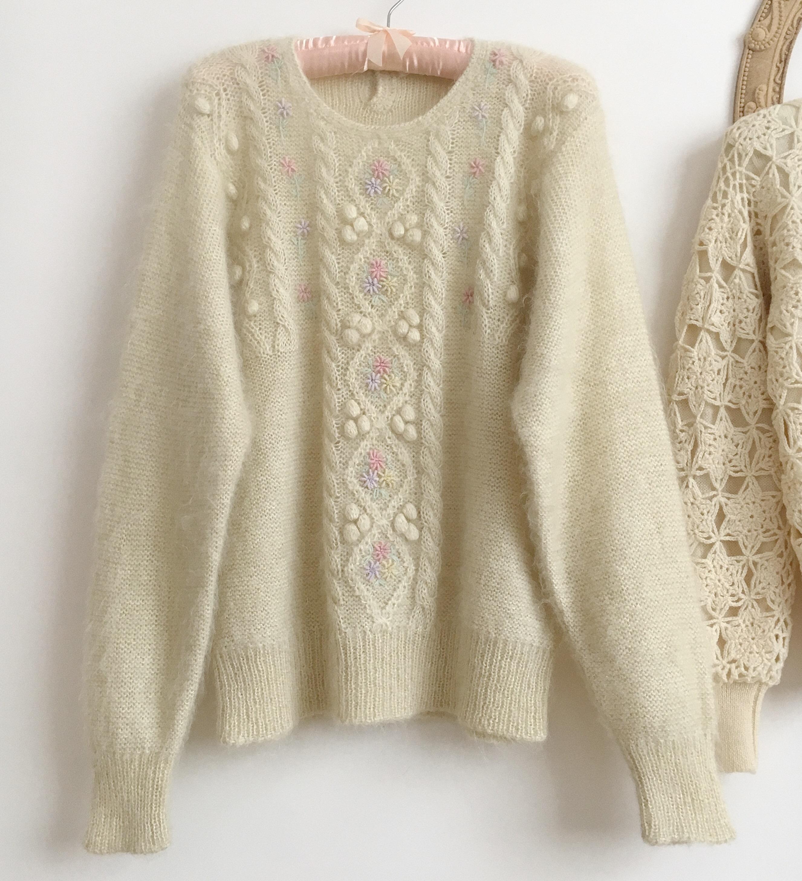 少女毛衣纯羊毛