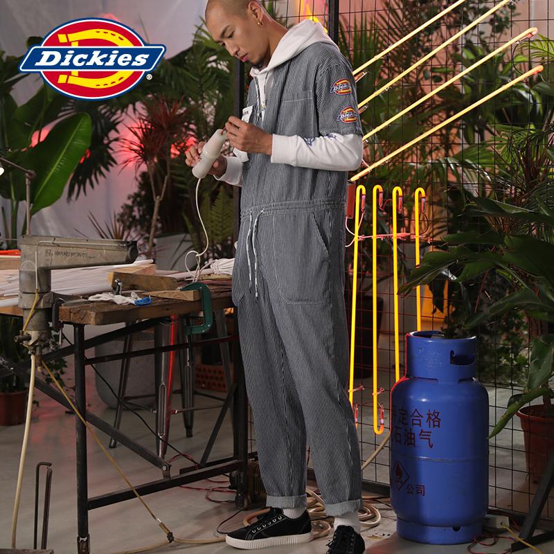 Dickies袖部logo连体工装裤可脱卸装饰标 DK006892