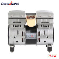 Otis air compressor copper wire motor 750W head 1500W motor oil-free silent air pump 550W motor