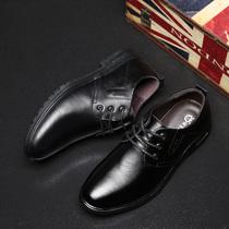 皮鞋男防臭潮鞋男士休闲鞋商务鞋子韩版棉鞋冬季保暖加绒男鞋墓
