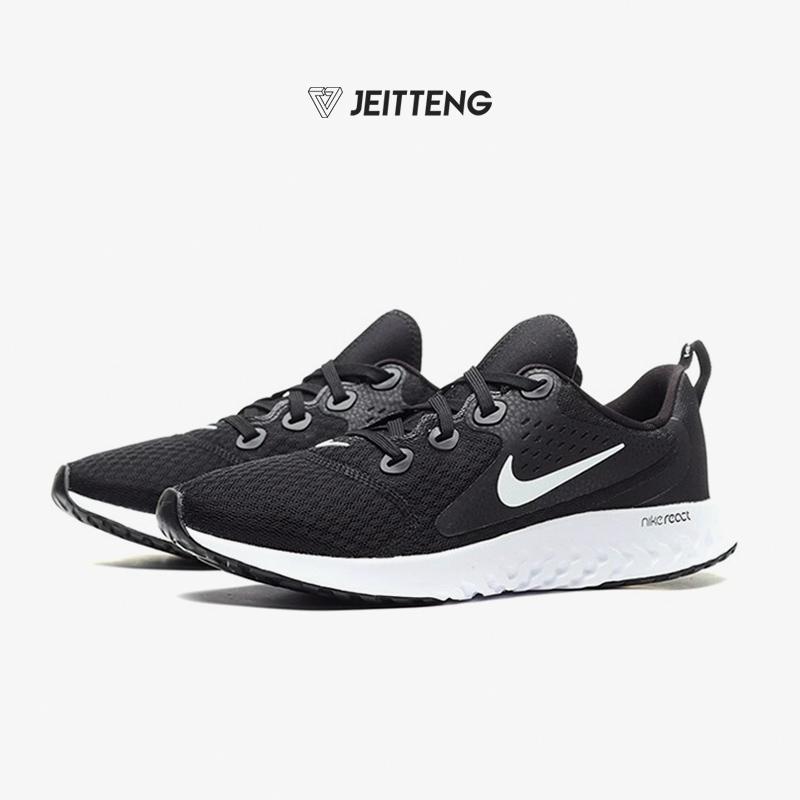 Nike耐克2019夏季新款男女童鞋大童跑步休闲鞋网面运动鞋AH9438