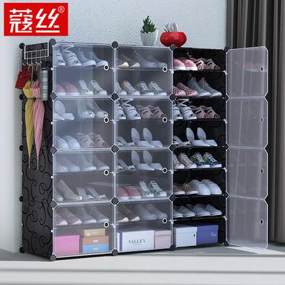 简易鞋柜经济型防尘宿舍女家用省空间门口收纳柜多层置物架鞋架子
