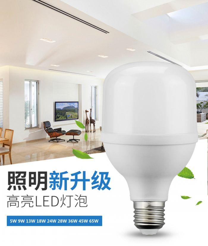 科光照明总动员LED灯泡球泡2700K6500K暖光20W30W光源节能灯恒流