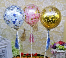 Creative Surprise Party Costume Accessories, sequins, scene cakes, balloons, solid, round, transparent Christmas decorations.