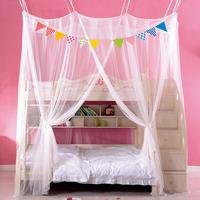免安装粘钩吸吊顶蚊帐加厚双层母子床上下铺一体高低铺儿童床蚊帐