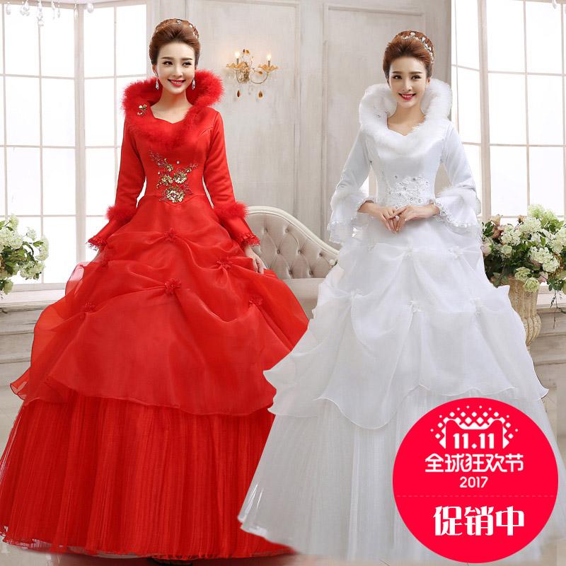 新款棉婚纱