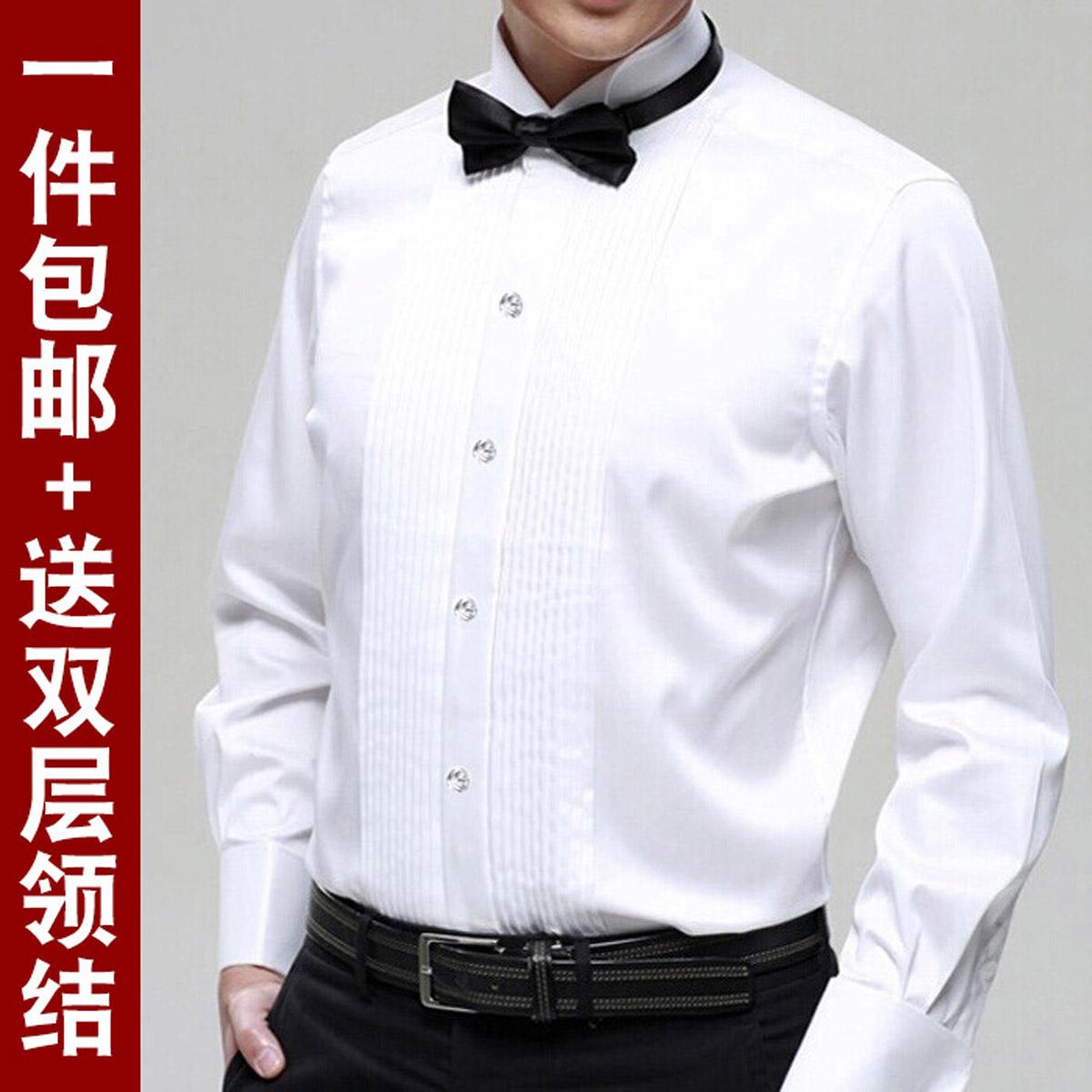 男演出衬衣