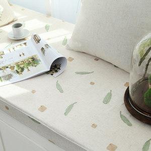 诺迈迪 卡米拉 毛巾绣飘窗垫定做订做 加厚坐垫海绵垫子榻榻米垫