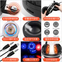 電腦耳機 頭戴USB接口耳麥雙耳帶麥臺式線控有線降噪通用話務