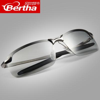 日夜两用偏光变色眼镜驾驶太阳镜男夜视眼睛司机开车钓鱼男士墨镜